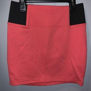 Charlotte Russe womens Pink Skirt size small
